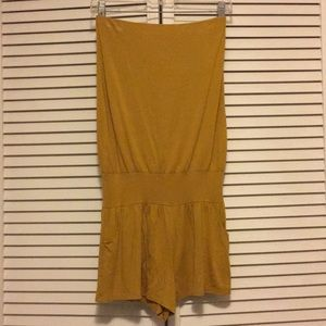 Fighting Eel mustard romper size medium
